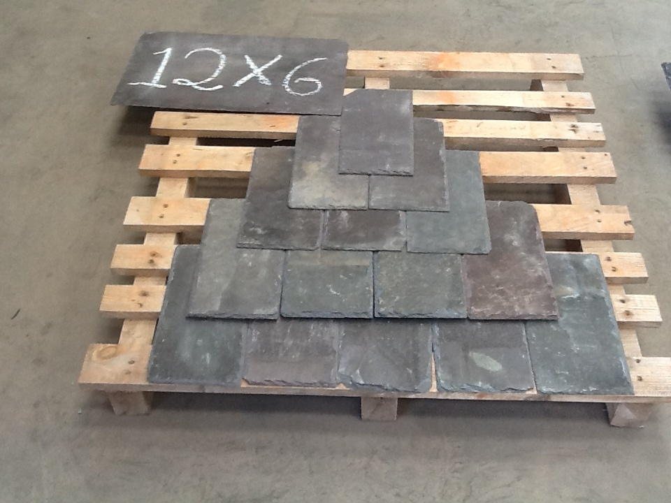 12x6 Welsh Roofing Slate Merthyr Salvage